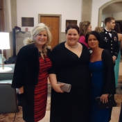 Ladies from EKU MVA at Military Ball
