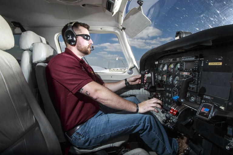Gage Colson, Aviation Major