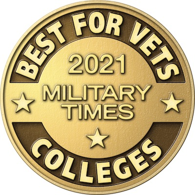 Military Times Best for Vets Colleges Award, 2020