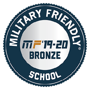 Military Friendly School, Bronze Award 2019-20