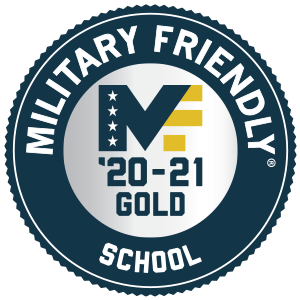 Military Friendly School, Gold Award 2020-21